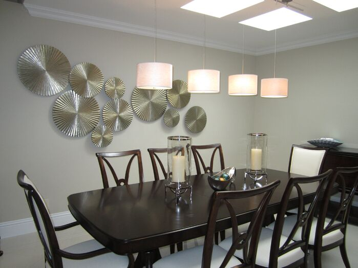 Contemporary Dining Room photo by HK Interiors