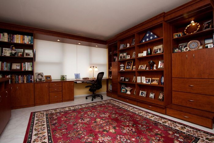 Traditional Home Office photo by HK Interiors
