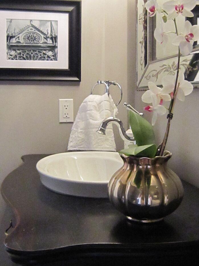 Glam Bathroom photo by Lisa Goulet Design