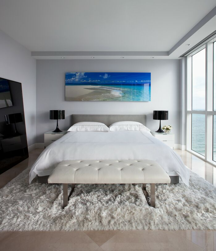 Modern Bedroom photo by Benjamin Cruz Designs