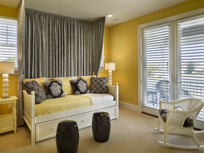 Cottage/Country Bedroom photo by Joseph A Berkowitz Interiors