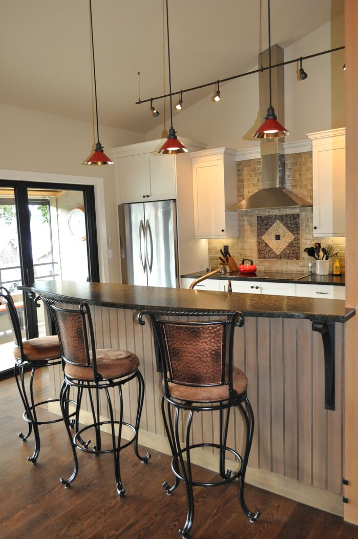 Contemporary Kitchen photo by Hamilton Redesigns