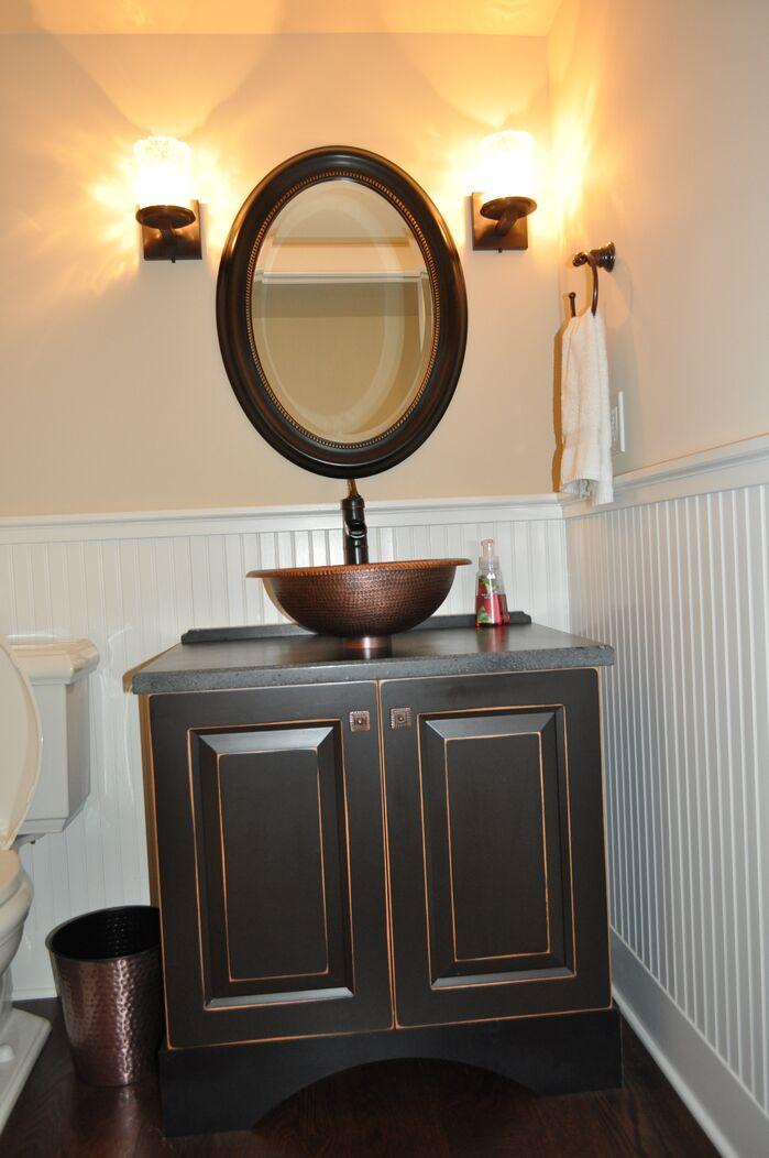 Contemporary Bathroom photo by Hamilton Redesigns