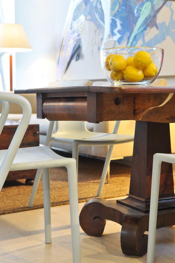 Contemporary Dining Room photo by Elizabeth Bolognino Interiors