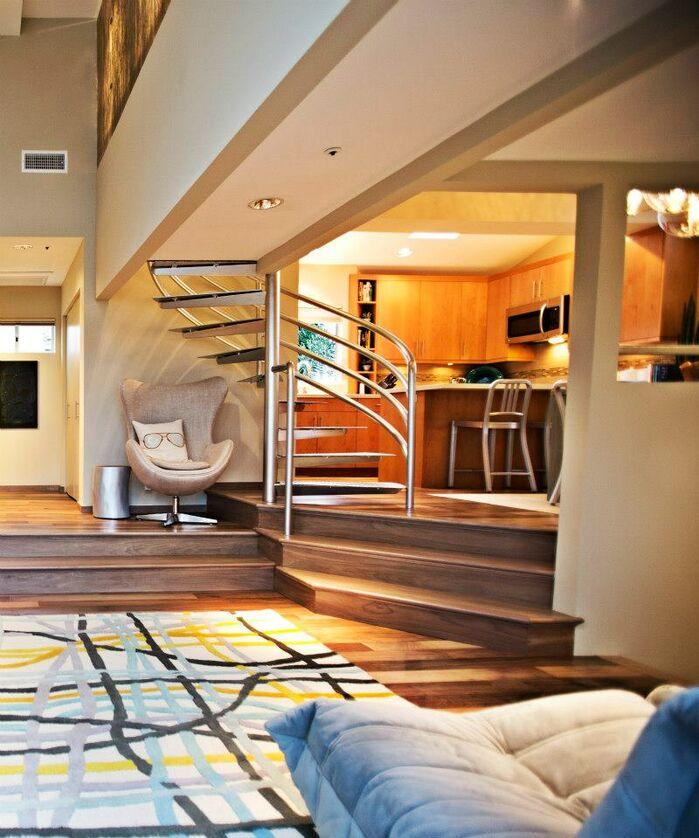 Contemporary Living Room photo by Shryne Design