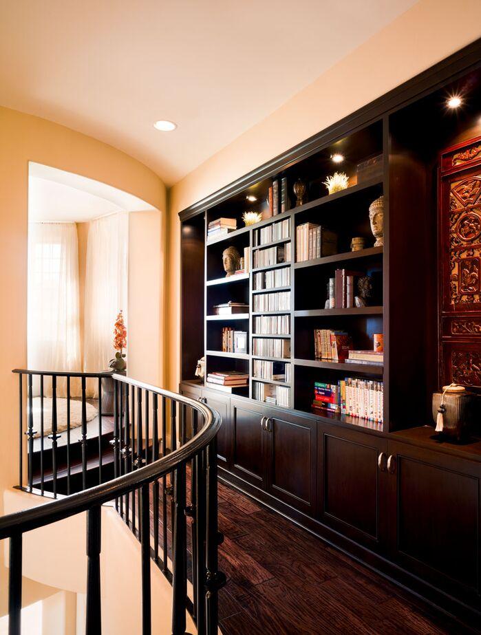Contemporary Entryway and Hallway photo by Maureen Mahon Interiors