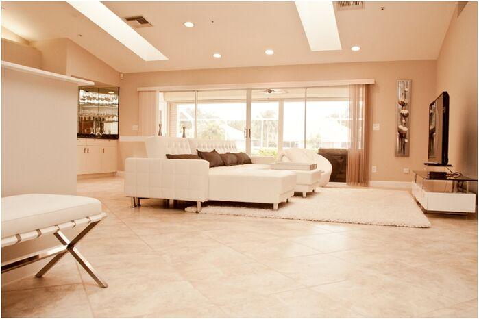 Modern Living Room photo by Olen Designs LLC