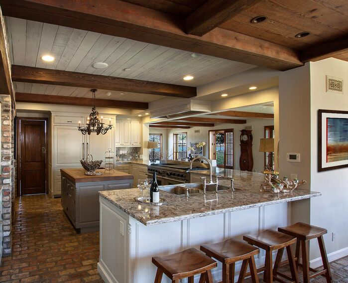 Rustic Kitchen photo by Beth Whitlinger Interior Design