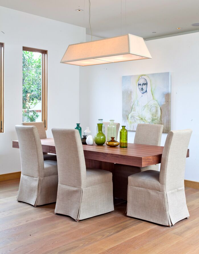 Contemporary Dining Room photo by Building solutions and design