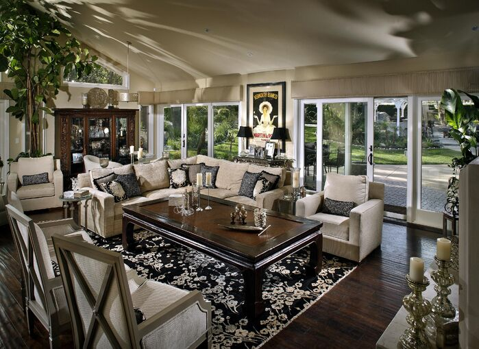 Contemporary Living Room photo by Beth Whitlinger Interior Design