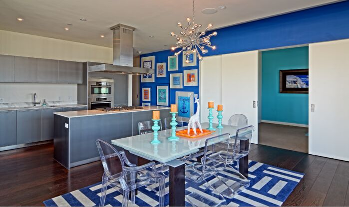 Eclectic Dining Room photo by Esther LaVonne Design