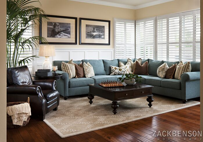 Traditional Living Room photo by Style On a Shoestring