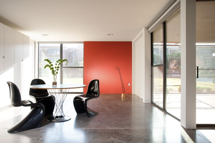 Modern Dining Room photo by Fitzsimmons Architects