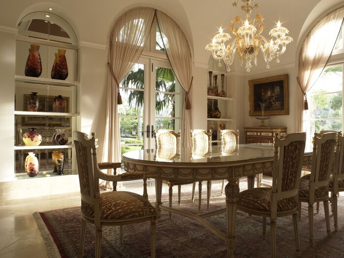 Traditional Dining Room photo by B. Pila Design Studio