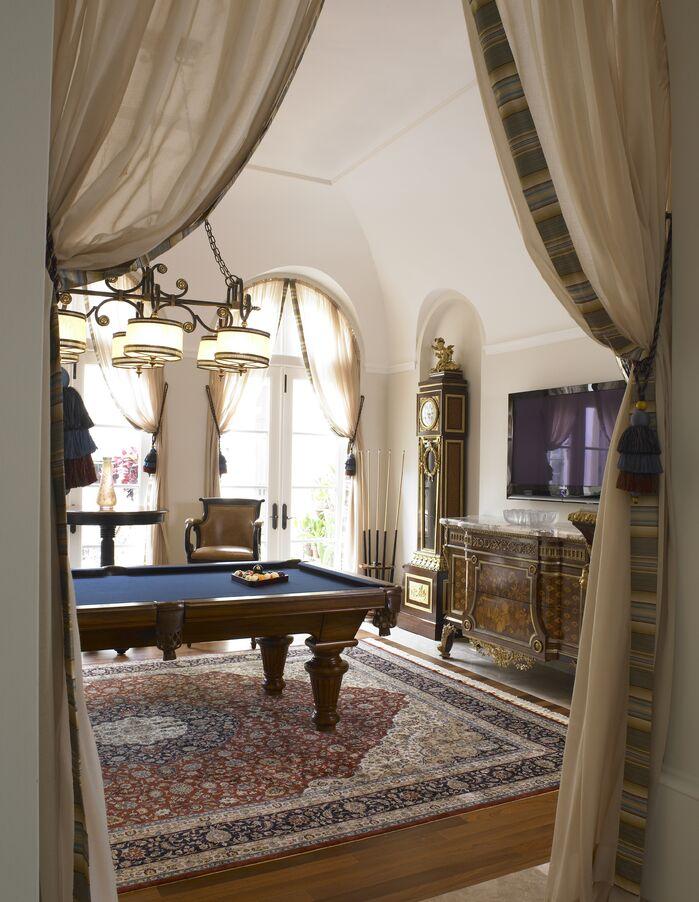 Traditional Game/Rec Room photo by B. Pila Design Studio