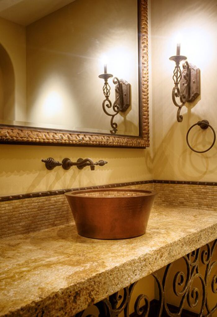 Traditional Bathroom photo by Beth Whitlinger Interior Design