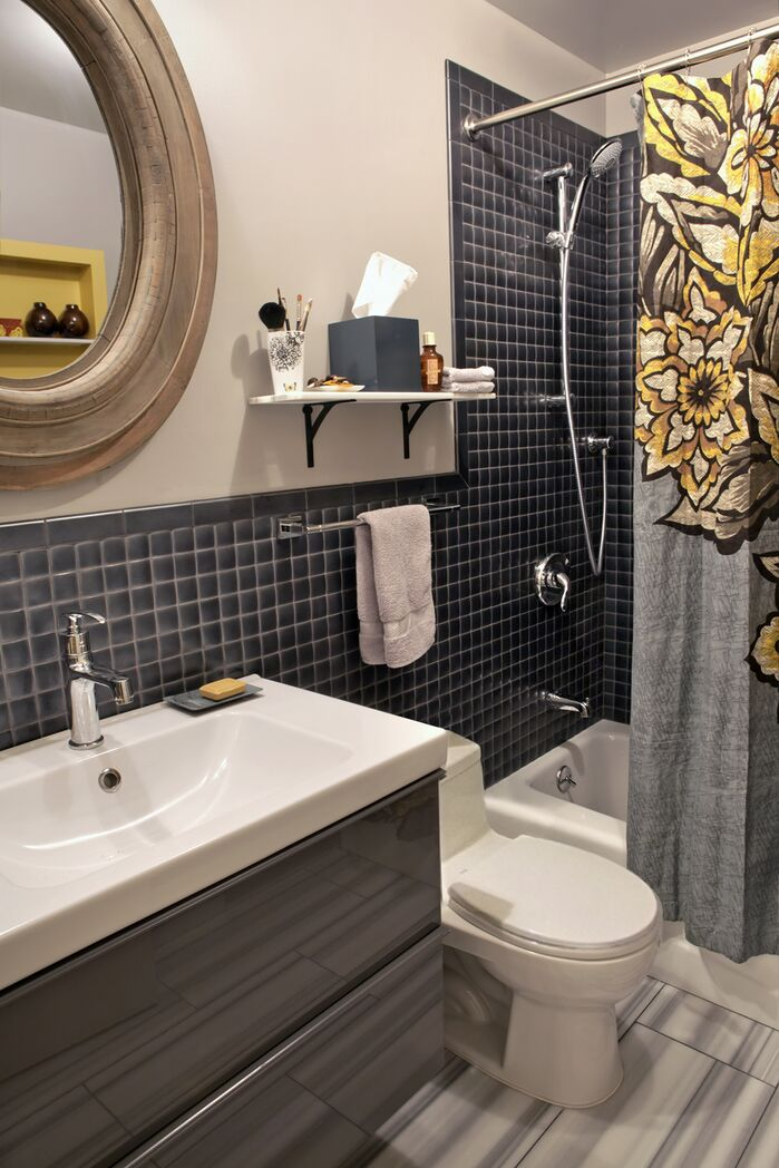 Modern Bathroom photo by Barbara Saskia Design