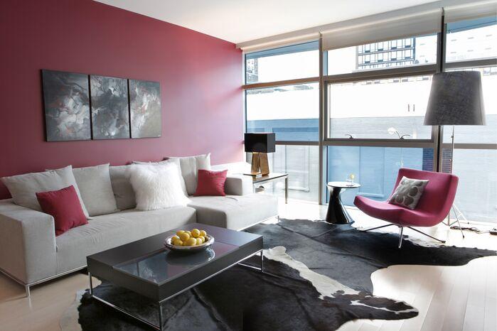 Glam Living Room photo by Barbara Saskia Design