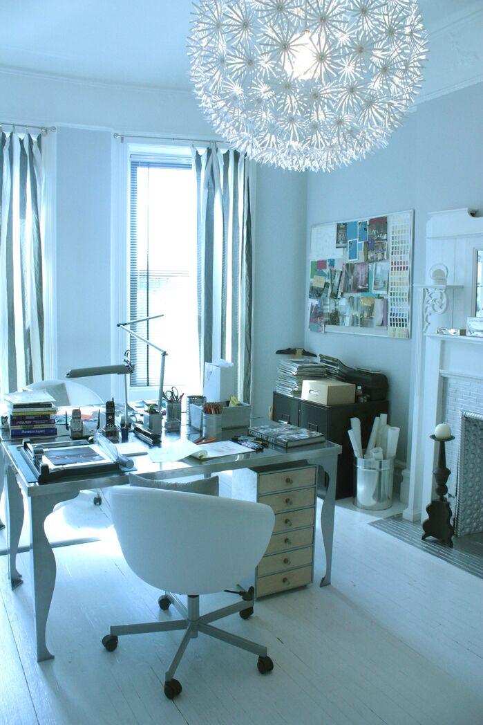 Modern Home Office photo by Barbara Saskia Design