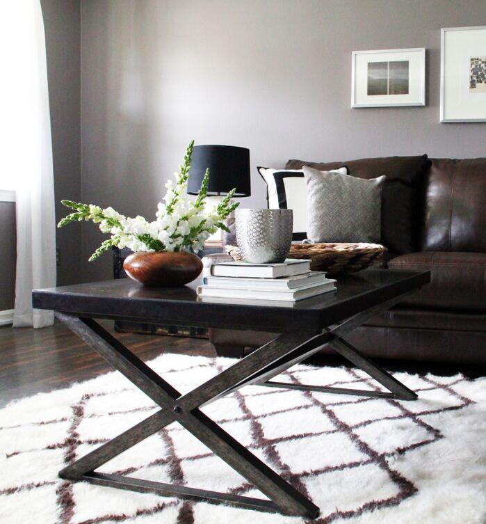 Modern Rustic Living Room Contemporary Living Room