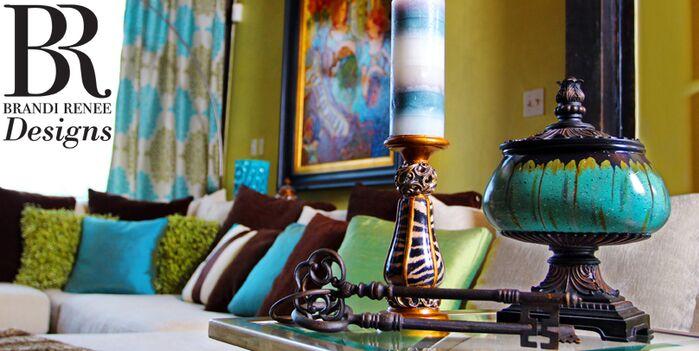 Eclectic Living Room photo by Brandi Renee Designs, LLC