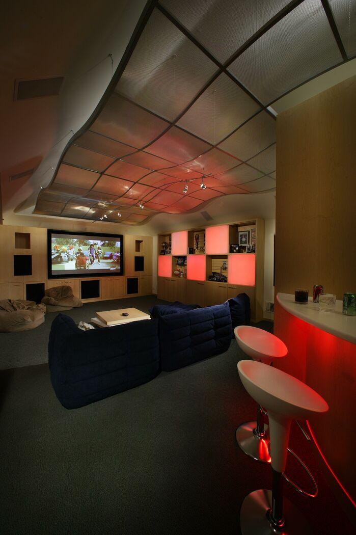 Modern Game/Rec Room photo by Benning Design