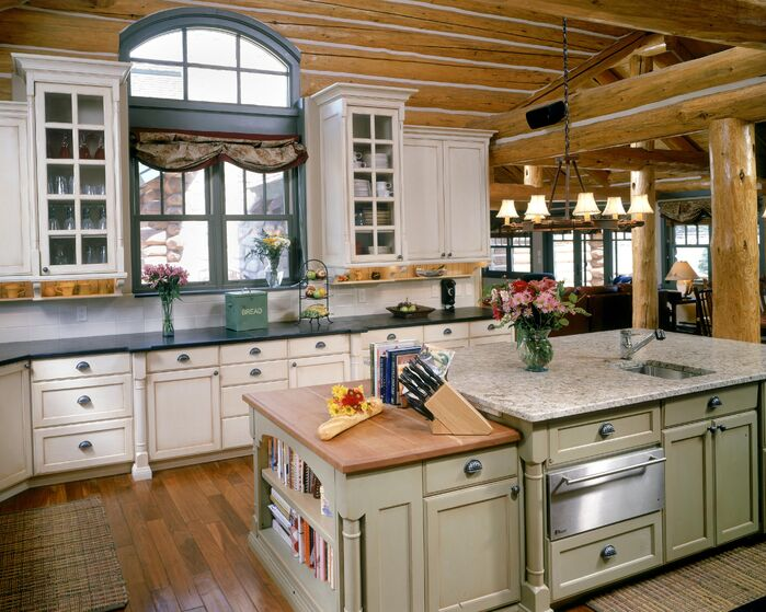 Cottage/Country Kitchen photo by Benning Design