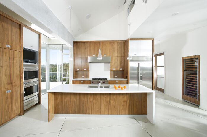 Modern Kitchen photo by Benning Design