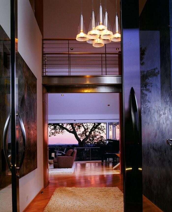 Modern Entryway and Hallway photo by Benning Design