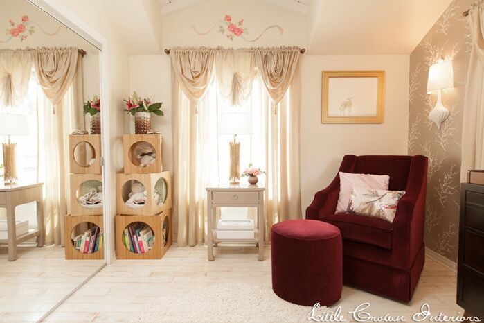 Eclectic Nursery photo by Little Crown Interiors