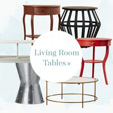 Our Favorites: Living Room Tables