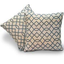 Bella Jacquard Throw Pillow (Set of 2)