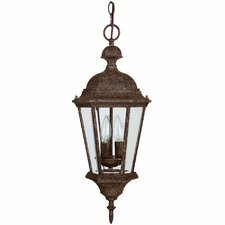 Carriage House 3 Light Outdoor Hanging Lantern