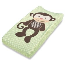 Ultra Plush™ Monkey Changing Pad Cover