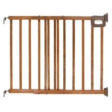 Deluxe Wood Stairway Gate