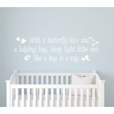 Butterfly Kisses Wall Decal