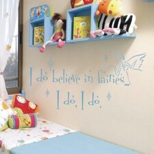 Believe in Fairies Wall Decal