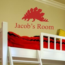 Jacob's Room Personalized Wall Decal