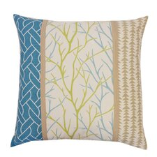 Tree Cotton Throw Pillow