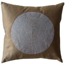 Spiral Silk Decorative Throw Pillow