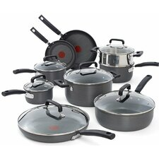 Signature Hard Anodized 15 Piece Cookware Set