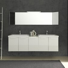 "Essenze 69"" Double Bathroom Vanity Set"