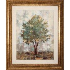 Verdi Trees Framed Painting Print (Set of 2)