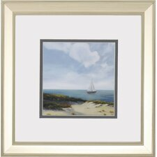Shoreline Marshes 2 Piece Framed Painting Print Set