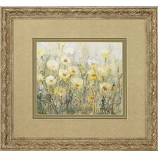 Summer In Bloom 2 Piece Framed Painting Print Set