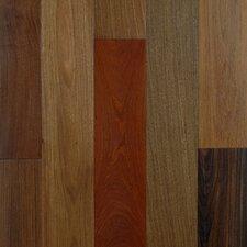 "Exotic Smooth 3-1/2"" Engineered Ipe Hardwood Flooring in Brazilian Ipe"