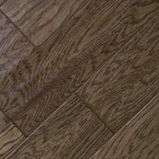 "5"" Engineered Oak Hardwood Flooring in Burlap"