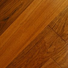 "Exotic Smooth 3-1/2"" Engineered Jatoba Hardwood Flooring in Jatoba"