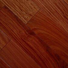 "Exotic Smooth 3-1/2"" Engineered Mahogany Hardwood Flooring in Santos Mahogany"