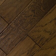 "5"" Engineered American Hickory Hardwood Flooring in Leather"